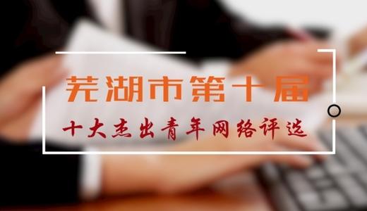 芜湖市第十届十大杰出青年网络评选